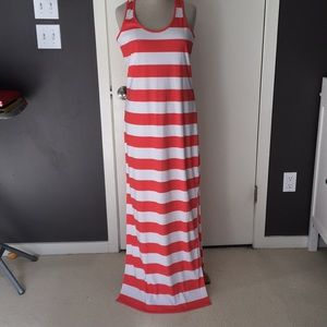 Michael Kors long sleeveless summer dress